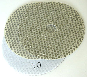 "4"" Electroplated Honing Flexible Disc"