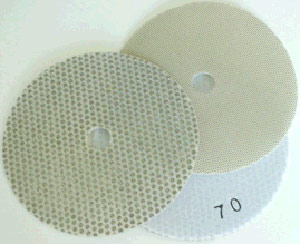 "5"" Electroplated Honing Flexible Disc"