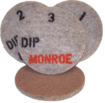 Monroe DIP - Diamond Impregnated Pads For Maintenance